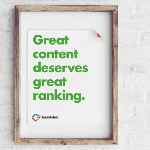 great content deserves great ranking