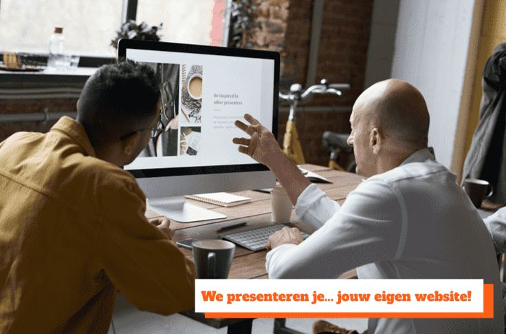 we presenteren je jouw eigen website