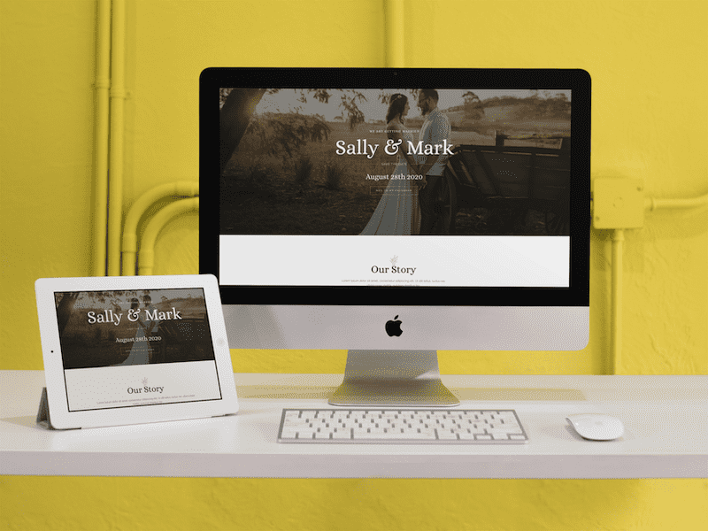 ipad imac responsive mockup in a yellow room a12372 19 optimized optimized