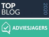 top blog award 2020 is gewonnen door zazoutotaal webdesign en online marketing uit helmond. dank je wel adviesjagers